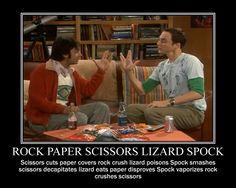 Kámen,nůžky,papír,tapír,Spock...