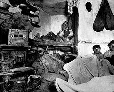 Jacob Riis, Five Cents Lodging, Bayard Street, c. 1889