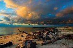 Sunrise at Dauphin Island, Alabama ~  Photo by Jeffrey S. Rease