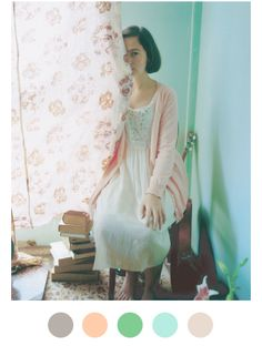Bulle de Savon is a Japanese brand usually associated with natural kei. Where To Buy Clothes, Girlie Style, Mori Girl Fashion, Forest Girl, Japanese Street Fashion, Pretty Pastel, Female Models, Flower Girl Dresses, Feminine