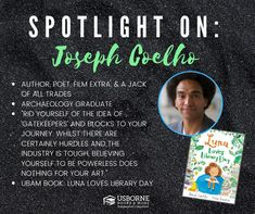 Joseph Coehlo - Black Authors from Usborne Books & More – Jaime's Book Corner Community Library, Black Authors, Book Corners, Love Days, Read Aloud, S Pic, Worlds Of Fun, Nonfiction Books, Story Time