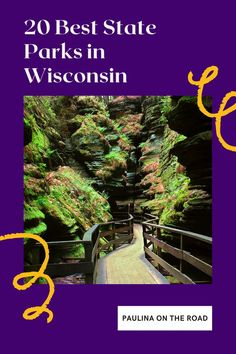 What are the best State Parks in Wisconsin? Get a selection of must-see Wisconsin State Parks including Wisconsin State Park map, hiking and campsites. The best Wisconsin state parks are perfect for hiking, mountain biking, all-terrain vehicle riding, backpacking, camping, fishing, boating, kayaking, horseback riding, cross country skiing, snowmobiling, snowshoeing. #wisconsin #wisconsintravel #usatravel #stateparks #stateparkswisconsin #hiking #stateparkhiking #wisconsinhiking Cities In Wisconsin, Wisconsin State Parks, Wisconsin Dells, Mounds State Park, State Park Cabins, Rock Island State Park, Travel Usa, Travel Tips, State Forest
