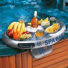 Amazon.com: Spa - Hot Tub Bar Refreshment Float - NIB: Patio, Lawn & Garden