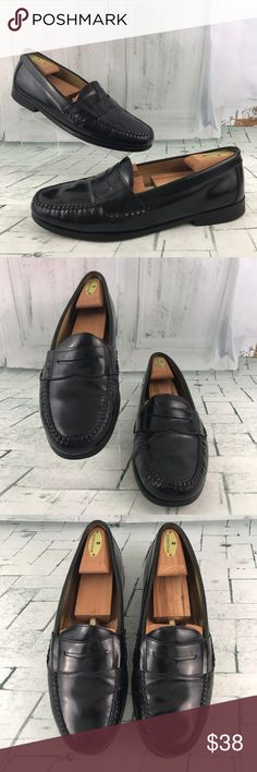 ed1a7535639 Johnston Murphy Men s Leather Loafer 11.5M Johnston Murphy 15-1091  Sheepskin Men s Leather Slip On Penny