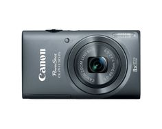 Canon PowerShot ELPH 130 IS 16.0 MP Digital Camera with 8x Optical Zoom 28mm Wide Angle Lens and 720p HD Video Recording (Gray)