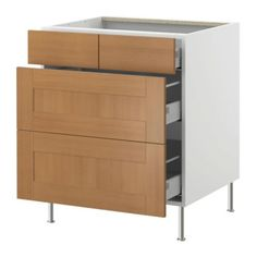 Billy gnedby bookcase white base cabinets ikea and for Beech effect kitchen base units