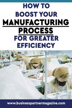 Therefore, we've put together a compilation of practical things you can do today to improve your manufacturing process for increased productivity and efficiency. #efficiency #manufacturing #productivity