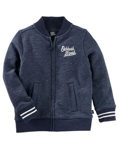 Toddler Boy Baseball Jacket from Carters.com. Shop clothing & accessories from a trusted name in kids, toddlers, and baby clothes.