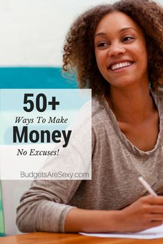 Check out all these ways to #MakeMoney below! All 50+ side hustles ever featured on this #blog, plus other fascinating jobs people have tried full-time as well (along with yours truly). You'll find everything from worm counting to taste testing, craps dealing & more! http://www.budgetsaresexy.com/ways-to-make-money/