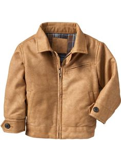leather todd jacket at baby gap