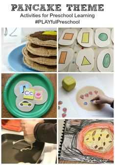 Easy and FUN Pancake ideas for kids