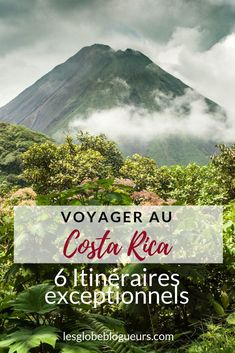6 itineraries for a voyage to Costa Rica of 2 weeks à mois! Costa Rica Travel, Voyage Costa Rica, Europe Travel Tips, Travel Deals, Travel Destinations, Honduras, Disneyland, Travel Photography Tumblr, Greece Travel