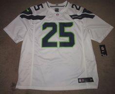 Nike Seattle Seahawks Sherman 25 Limited Football Jersey Mens 2XL 479191 109 #Nike #SeattleSeahawks