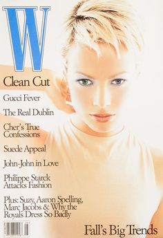 <em>W</em> Magazine's Supermodel Cover Girls - W Magazine August 1996
