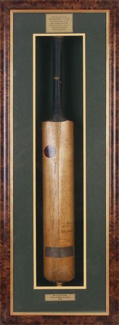 Don Bradman cricket bat to see $18,000 at Charles Leski Auctions?