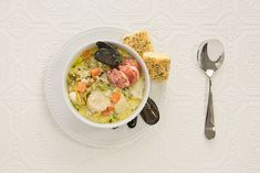 bowl of Nova Scotia Seafood Chowder from the Culinary Gudie Seafood Dinner, Fresh Seafood, Seafood Restaurant, Chowder Recipes, Seafood Recipes, Nova Scotia Lobster, Fish Chowder, Fish Stew, Fish Dishes