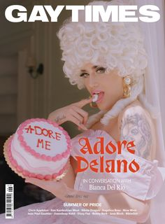 We got Bianca Del Rio to interview Adore Delano and it was hilarious – read in full here - Queerks™ V Magazine, Magazine Covers, Rupaul, Vanity Fair, Cosmopolitan, Marie Claire, Nylons, Danny Noriega, Cover Male