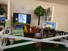 Town of St. Leo 2015 Pasco County fair booth