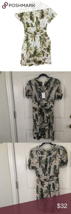 H m for water palm tree dress images