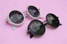 Imagem de pink, sunglasses, and fashion