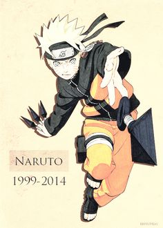 I watched it and loved it from the start Ive watched so much and its hard to think its finally coming to it's end it makes me feel so sad it will be missed I'll miss looking forward to a new chapter but I love to look back to and I'm glad i got to read it while it happened :) Goodbye Naruto Goodbye old friend...