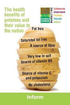 Health Benefits of #Potatoes