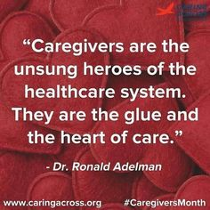 Today is Caregiver Appreciation Day! percent of the U.S population, some 65 million americans are care givers in some way. November is National Caregiver Appreciation month. So Thank a caregiver today. Caregiver Quotes, Healthcare Quotes, Appreciation Quotes, Staff Appreciation, Aging Parents, Home Health Care, Mental Health, Elderly Care, Health Quotes