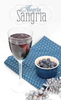 Alegria Sangria - Red Wine, St Germain, Peaches, Strawberries, Raspberries, Blackberries & Blueberries!