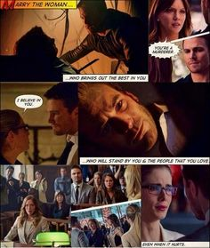 Olicity - Marry the woman who brings out the best in you