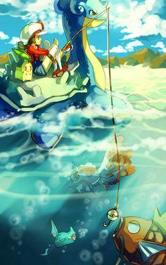 #pesca Pokémon