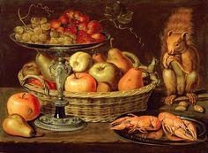 Clara Peeters (Flemish, c.1589/94-1657) - Still life with silver gilt tazza