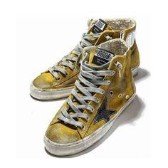 Golden Goose Deluxe Brand Francy Sneakers In Yellow Suede With Star -   154.99 01959ca8d6