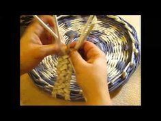 Inspiraciones: manualidades y reciclaje   Recopilación de tutoriales e ideas sobre cestería con papel reciclado - Inspiraciones: manualidades y reciclaje