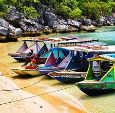 Boats, Labadie, Haiti. For the best of art, food, culture, travel, head to the culturetrip.com. Click theculturetrip.co... for everything a traveler needs to know about a trip to Haiti.