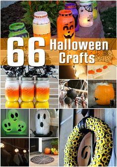 66 Halloween Crafts - Craftspo