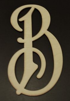 16 Inch Single Letter Wood Monogram-Perfect for a wreath $19