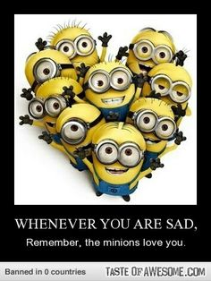 "I have loved ""minionz"" since minionz didn't exsist...Everyone needz a few good minionz then again what minionz aren't ""freak'in awesome""..."