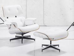 lounge chair con sgabello AVIATOR  (FAKE) interessante in cachemire