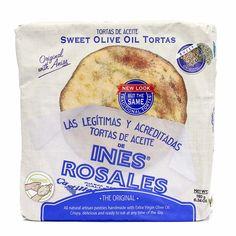 Sweet Olive Oil Tortas de Aceite by Ines Rosales 6 Pcs