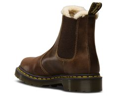 FUR-LINED 2976 LEONORE ORLEANS | Women's | The Official US Dr Martens Store Dr. Martens, Dr Martens Boots, Tomboy Fashion, Fashion Shoes, Dr Martens Store, Chelsea Boots Style, Presents For Girlfriend, Shoe Boots, Shoe Bag