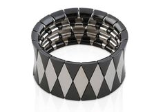 Robert Demeglio Ceramic Cuff bracelet black