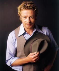 Simon Baker in a gentleman version