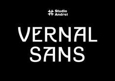 Vernal Sans - Typeface by Studio Andrei - Free Download - © Andrei Palomäki 2016 - www.studioandrei.fi
