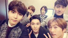 【TWITTER】150107 Kim RyeoWook's update about #Kangin ◠ᴥ◠  @ryeong9: A photo where we went to → http://twishort.com/Gduhc