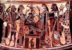 De geboorte van Athene