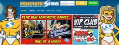 Fantastic Spins Review  10 free spins  200% Bonus