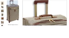 London Fog Luggage Chelsea 29 Inch 360 Expandable Upright Suiter, Olive Plaid, #LondonFog