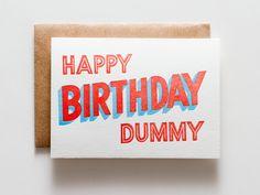 Happy Birthday Dummy