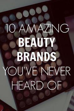 new beauty brands