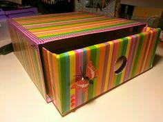 Reciclando caja de la GlossyBox